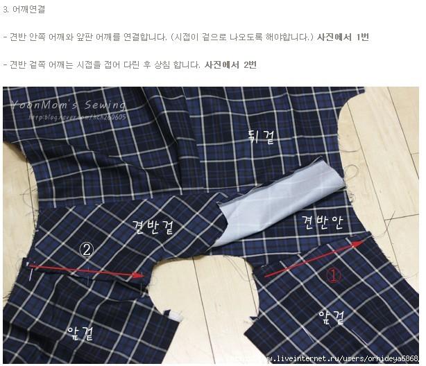 Как правильно сшить рубашку 13
