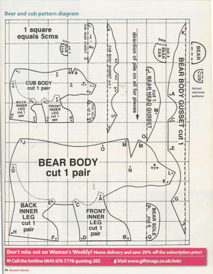 медведь из бисера схема - Сайт о бисере.