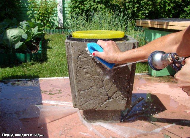 Как сделать руки из бетона 321
