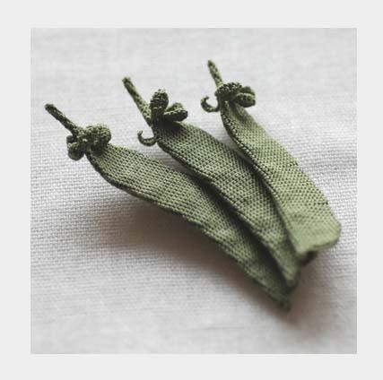 НАХОДКА ДНЯ: вязаные овощи by Itoamika Jungjung.