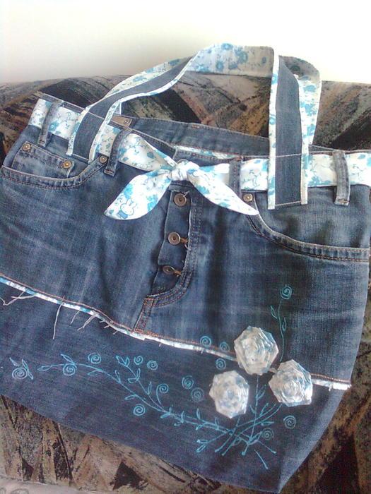 Как сшить детский сарафан из старых джинсов выкройки