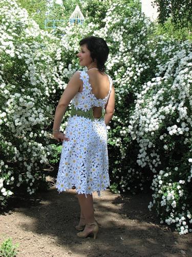 Ромашковое платье