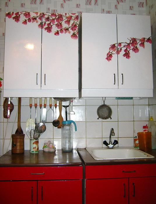 Старый кухонный гарнитур своими руками фото