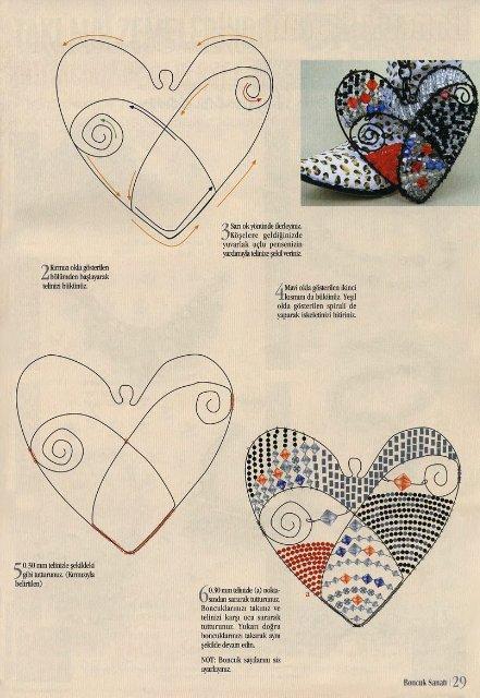как сделать из бисера сердце - Мир Бисера.