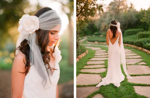 Ретро свадебные платья.