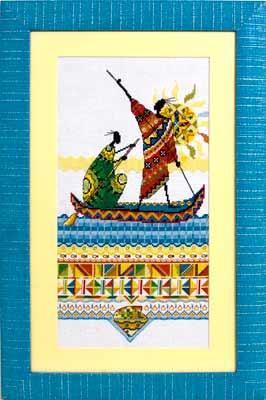 НМ-738 «Африка.Масаи. Рыбаки» (266x400, 18Kb)
