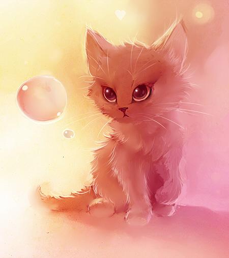 рисунки кошек картинки
