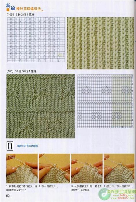 вязание спицами схемы.