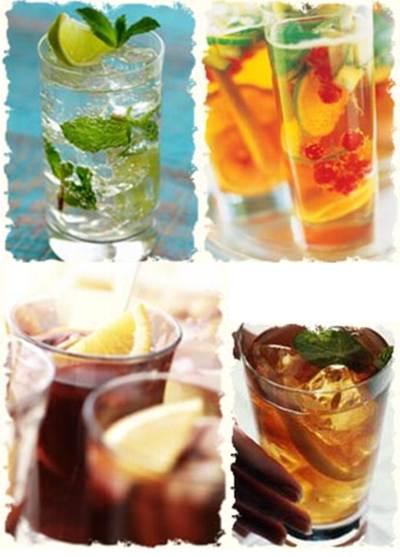 Главное для напитков на летней свадьбе - их количество.