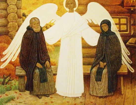 Житие Петра и Февронии Муромских. (550x427, 54Kb)