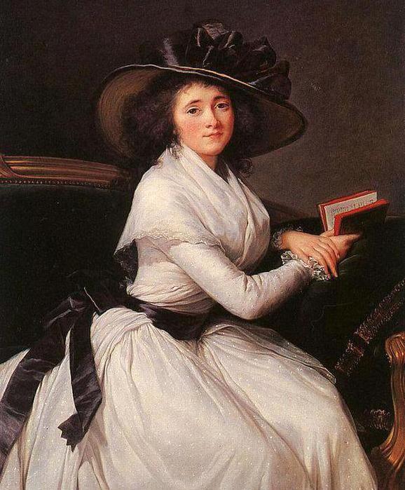 Очарование женственности.француз.художница виже-лебрён(18-19вв