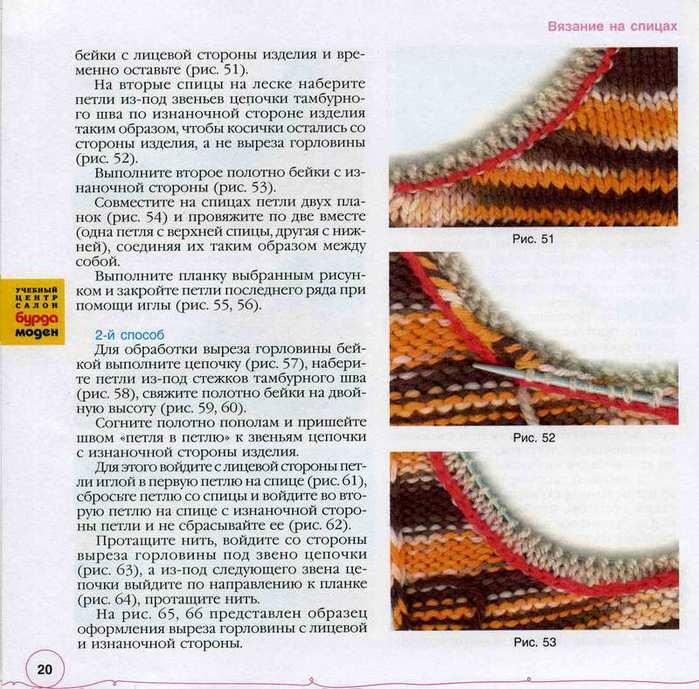 Вязание как правильно набрать петли по горловине