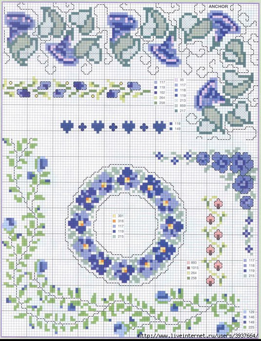 punto croce 375 motifs (4) (535x700, 313Kb)