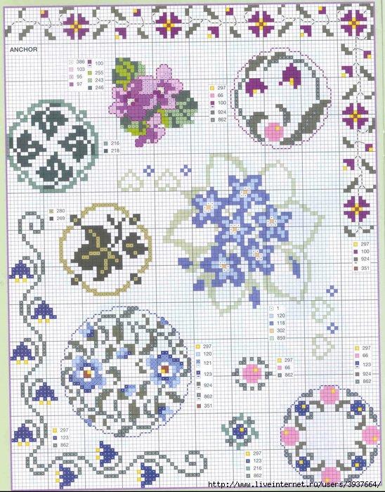punto croce 375 motifs (5) (548x700, 315Kb)