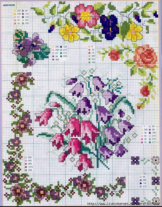 punto croce 375 motifs (38) (546x700, 351Kb)