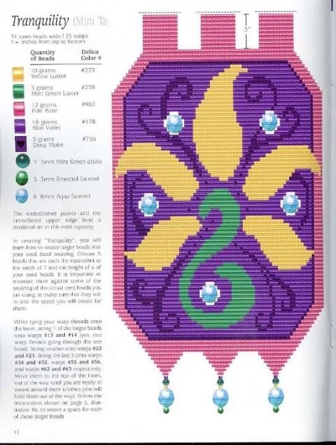 Бисероплетение ткачество схемы - Делаем фенечки своими руками.