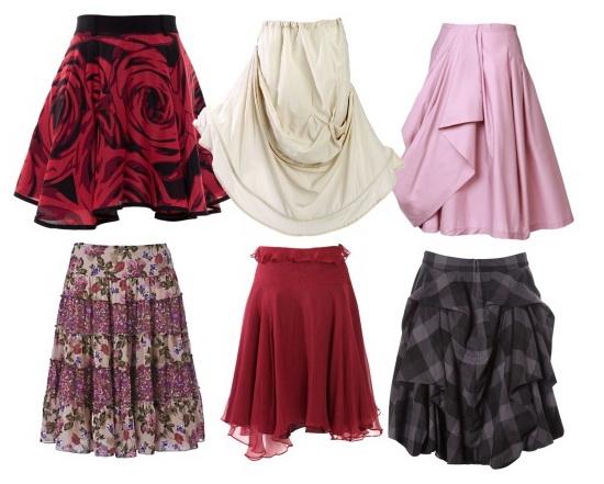 Перед тем, как сшить юбку, конечно же, необходимо ее выкроить.