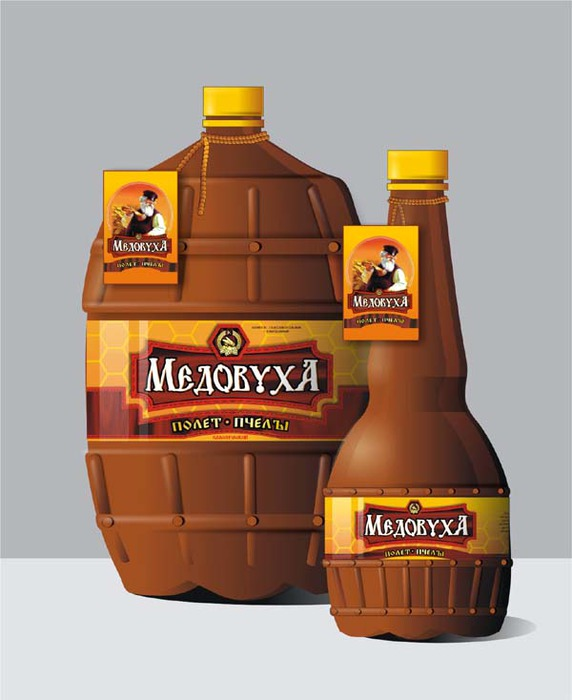 Продукты для приготовления рецепта напитка - медовухи.