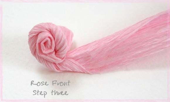 Роза из креповой бумаги своими руками мастер класс