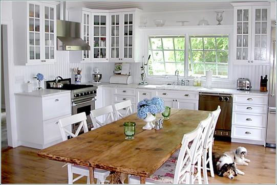 интерьер в стиле прованс кухня.