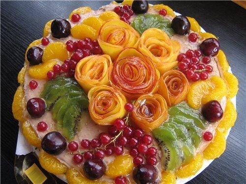 Фото нарезок фруктов