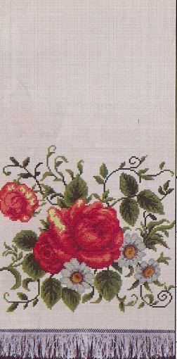 Троянди та ромашки (252x510, 34Kb)