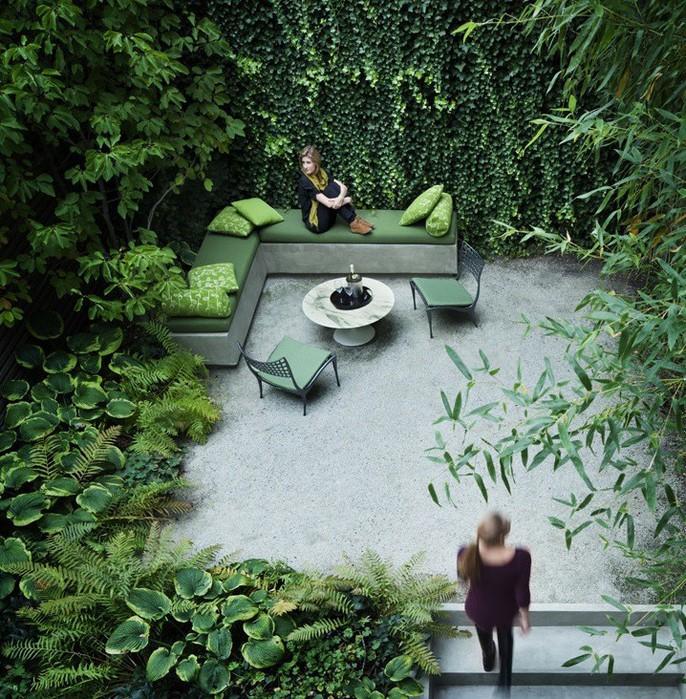 Небольшой сад в городской квартире