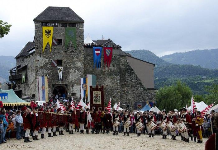 Замок Оберкапфенберг - Burg Oberkapfenberg 63101