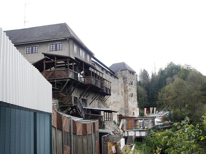 Замок Оберкапфенберг - Burg Oberkapfenberg 73501