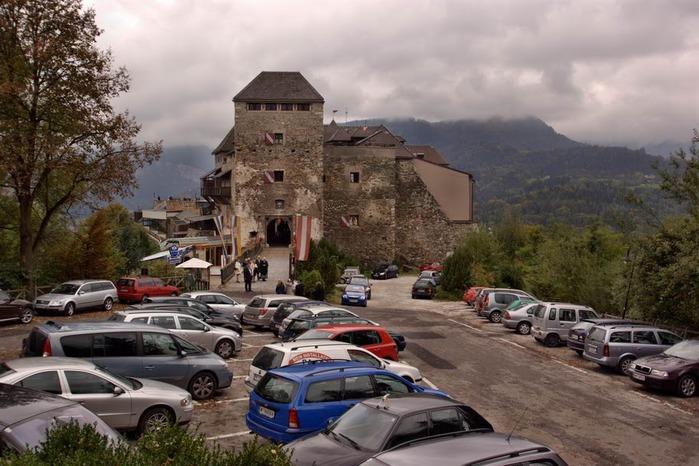 Замок Оберкапфенберг - Burg Oberkapfenberg 75255