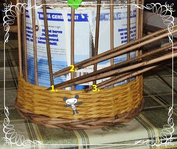 Плетение из газетных трубочек коробки узоры