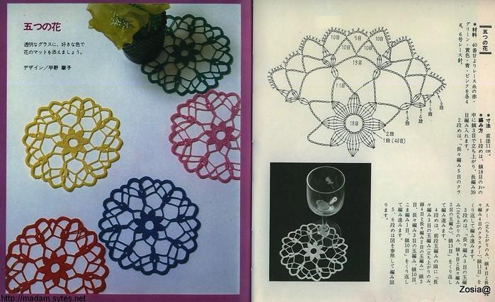 Вязание крючком маленькие салфетки схемы и фото