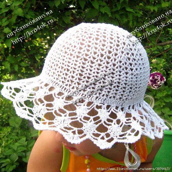 Летняя шляпа и панамка для