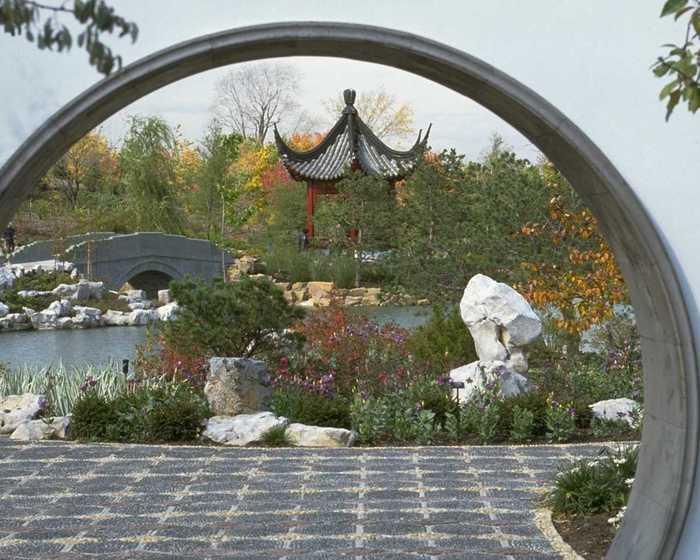 Стили садов мира