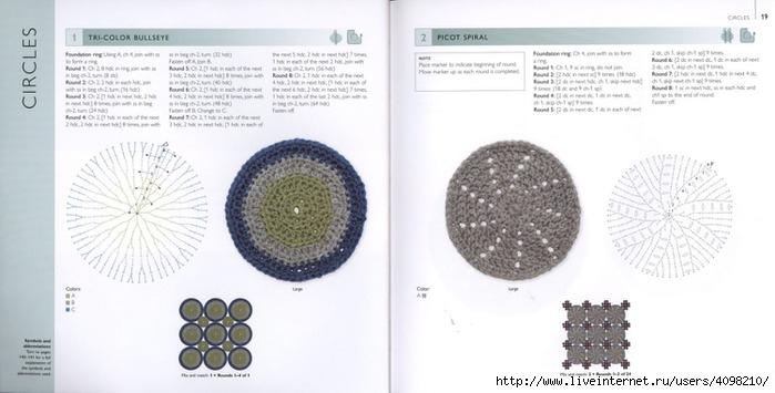 150针织的的钩针Motifs_H.Lodinsky_Pagina 18-19(700x355,137KB)