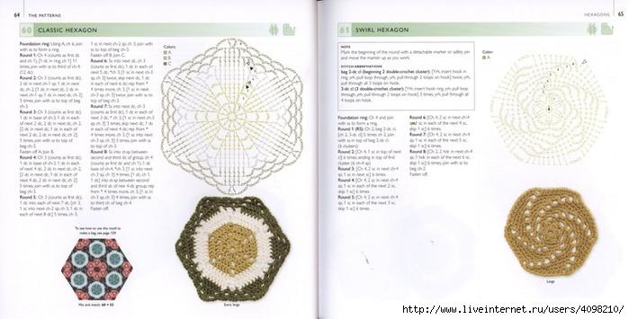 150针织的的钩针Motifs_H.Lodinsky_Pagina 64-65(700x355,161KB)