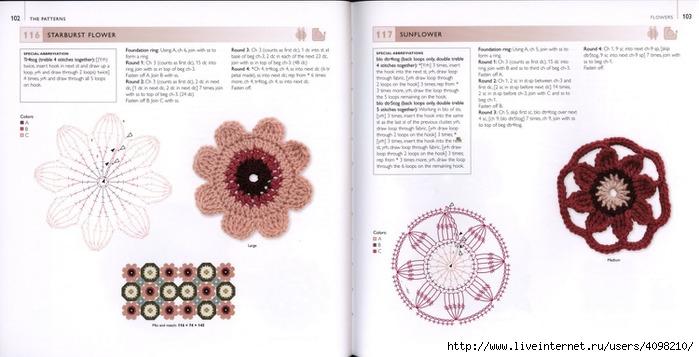 150针织的的钩针Motifs_H.Lodinsky_Pagina 102-103(700x357,148KB)