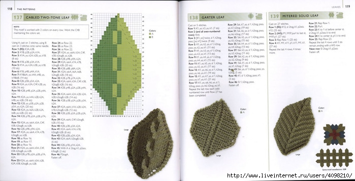 150针织的的钩针Motifs_H.Lodinsky_Pagina 118-119(700x357,159KB)