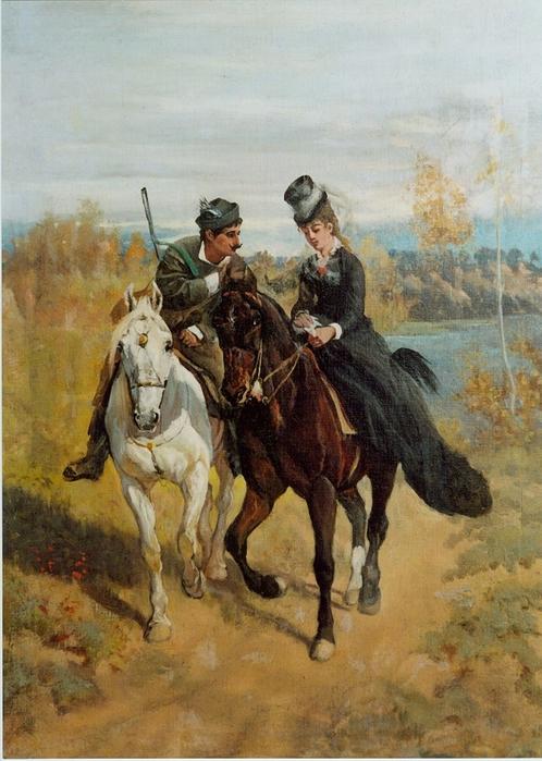Edward Mateusz Römer, Zwei Reiter, 1872 (498x700, 278Kb)