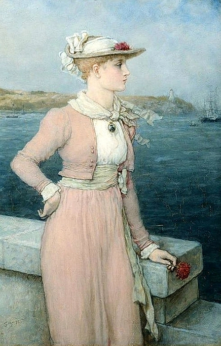 George Henry Boughton (1833 – 1905)sea-breeze (448x700, 263Kb)