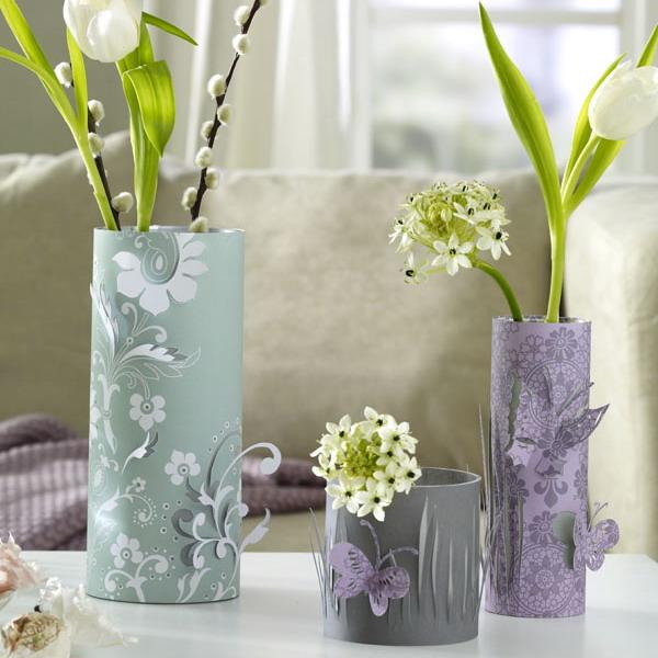 Как сделать вазу своими руками для дома