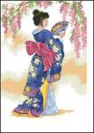������ Dimensions06953 Elegant Geisha (300x420, 142Kb)