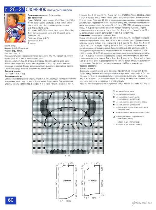 термобелья полимерных боди вязанный спицами описание