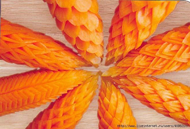 Искусство оформления блюд и кулинарных изделий-095 (658x449, 158Kb)