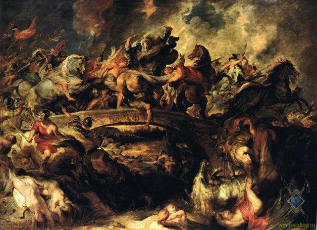 Рубенс Питер Пауль Битва с амазонками, 1618 (640x465, 87Kb)