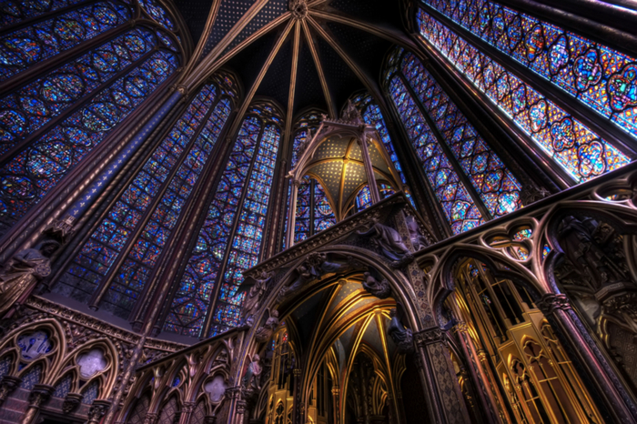 The Sainte-Chapelle (700x466, 559Kb)