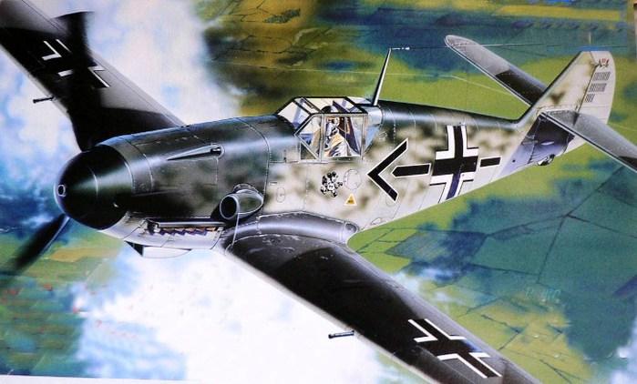 Bf-109F Галланда Адольфа (700x422, 79Kb)