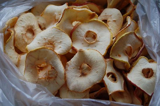 Яблоки сушеные самое интересное в