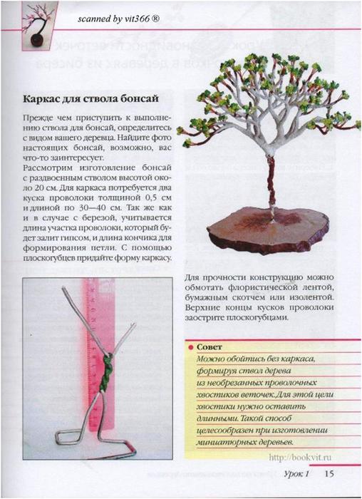 свой цитатник или сообщество!  Деревья из бисера (Ольга Гулидова).  Прочитать целикомВ.
