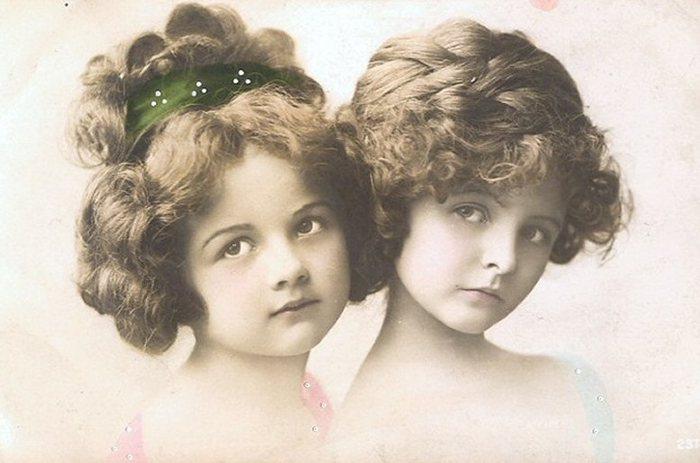 Прически девочкам 19 века